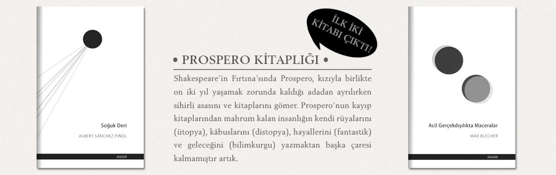Jaguar'dan Yeni Bir Dizi: Prospero Kitaplığı.