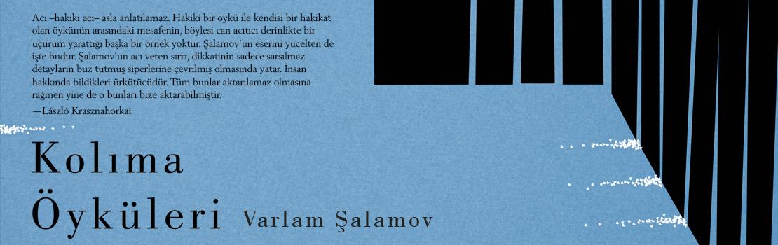 Şalamov ilk kez Türkçede…